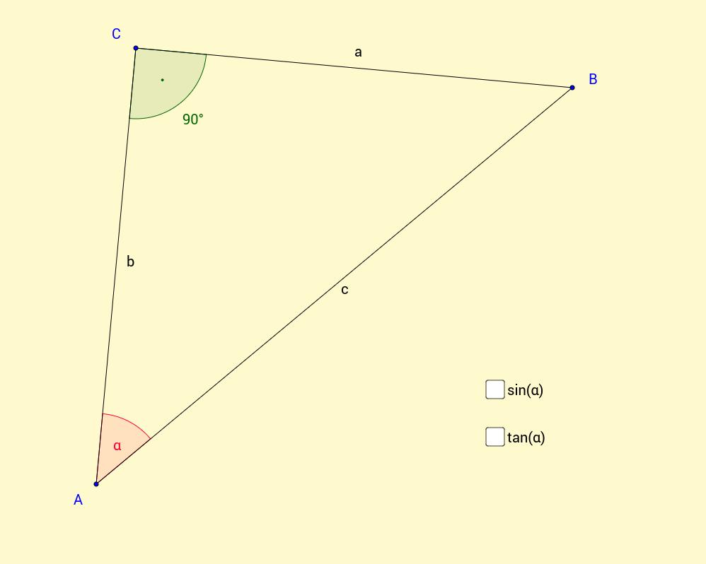 Trigonometrische Beziehungen