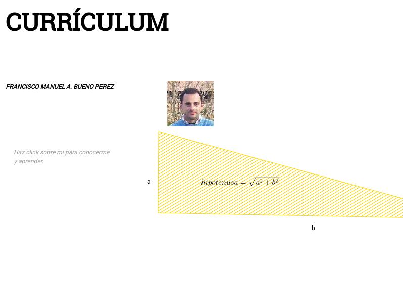 F=MA, la segunda ley de Newton y mi curriculum