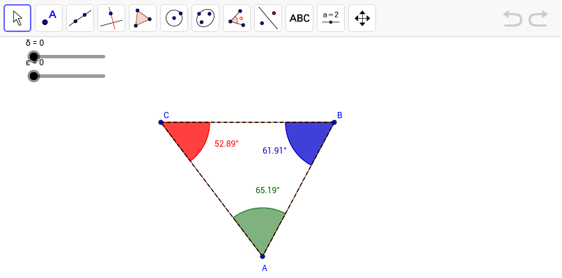 Investigating the Triangle Angle Sum Theorem GeoGebra – Triangle Angle Sum Theorem Worksheet