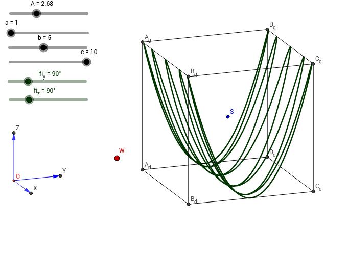 Krzywa Lissajous 3D 1.0