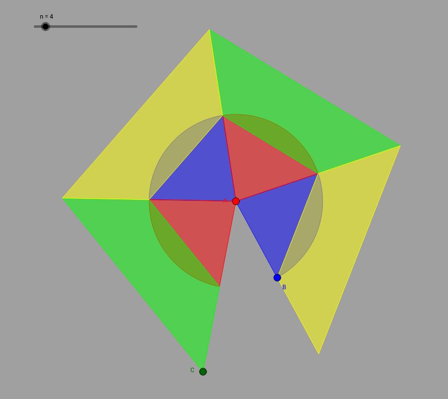secteur circulaire ou polygone