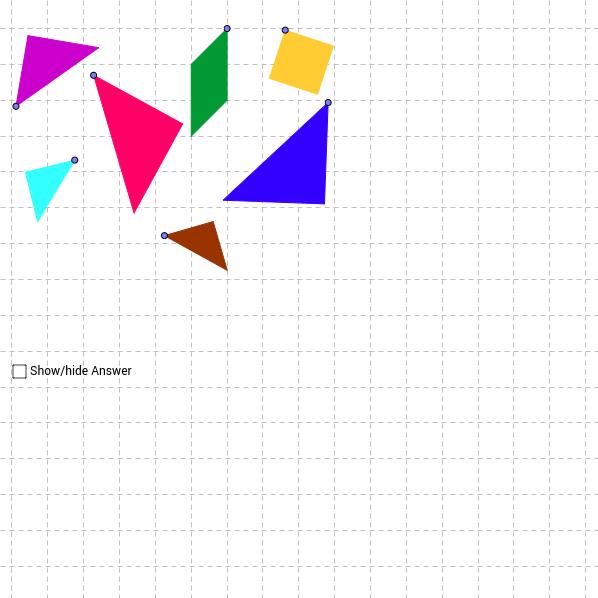 The Square Tangram Puzzle