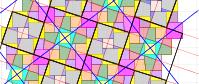 Pythagorean Tessellation # 29 Tiling