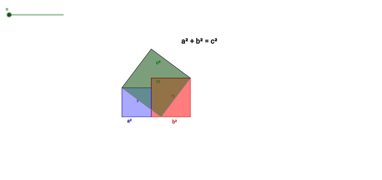Stuhl der Braut - Pythagoras mal anders