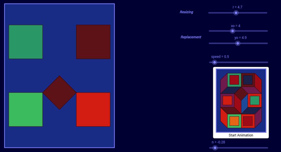 Vasarely Op-Art: Untitled (3)