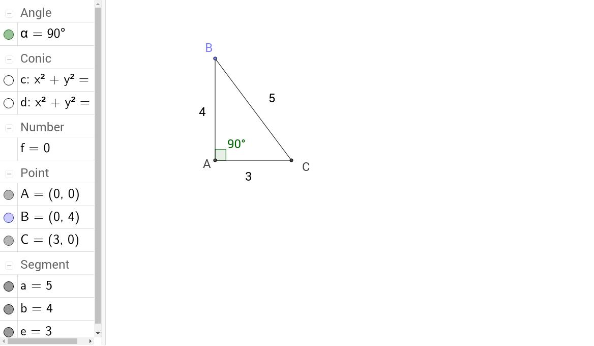 worksheet Converse Of The Pythagorean Theorem Worksheet converse of pythagorean theorem geogebra applet