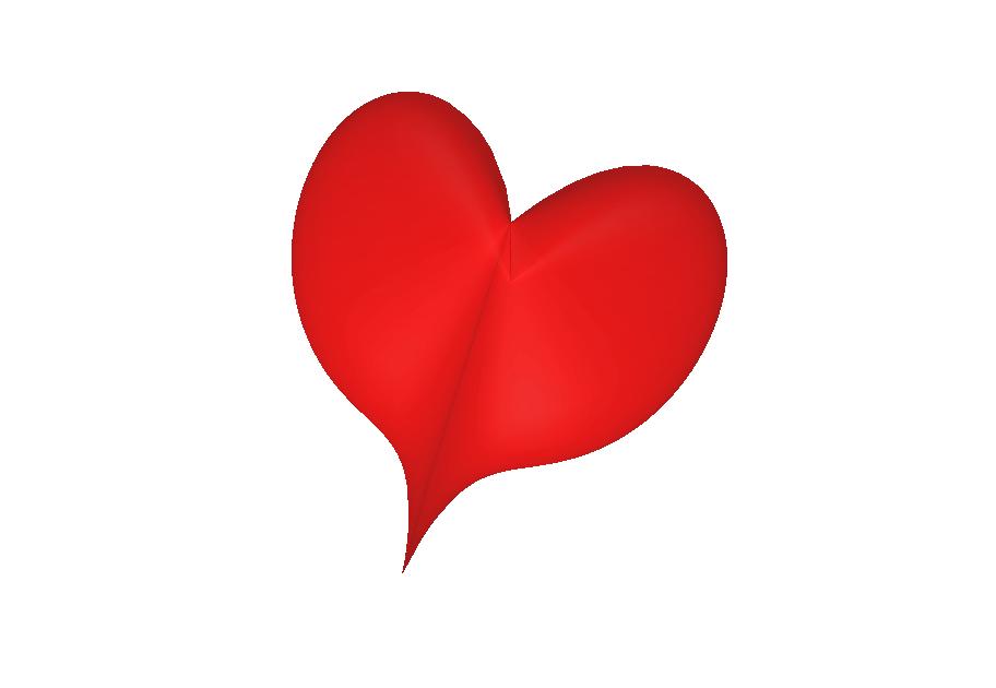 Un cuore parametrico 3D - A 3D parametric heart surface
