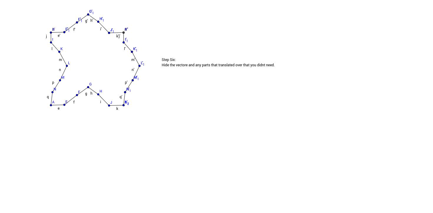 Translation Tessellation Step 6