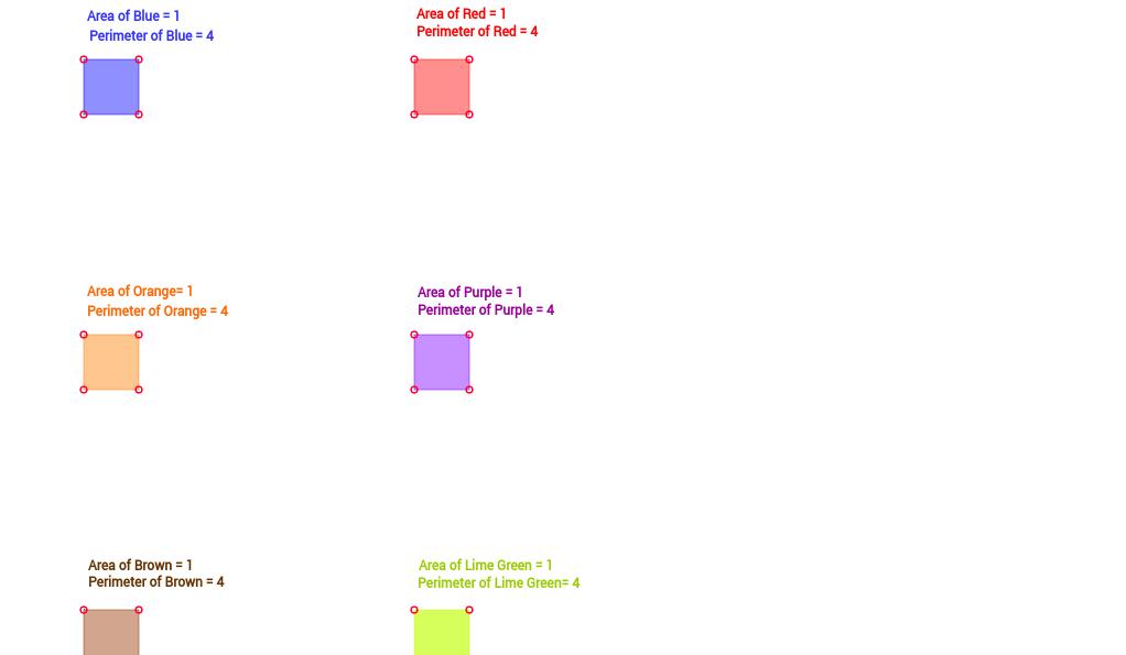 Perimeter - Area Challenges