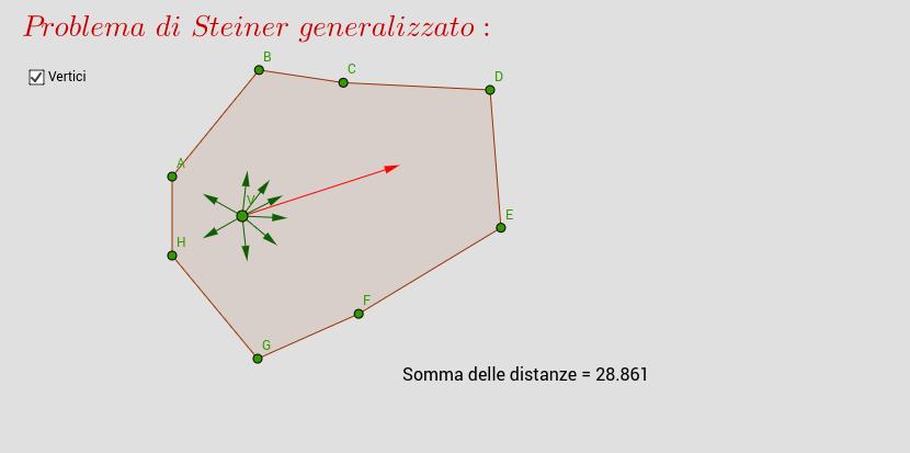 Problema di Steiner generalizzato