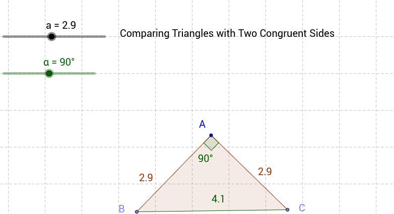 Comparing Triangles with Two Congruent Sides