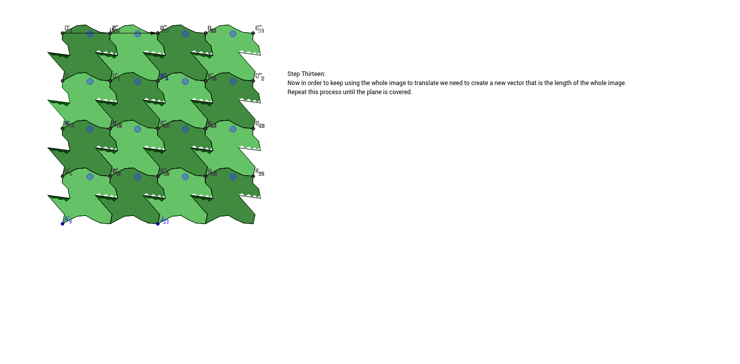 Translation Tessellation Step 13b