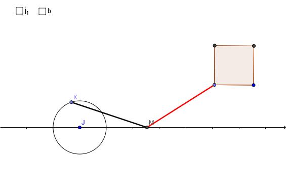 回転運動→直線運動