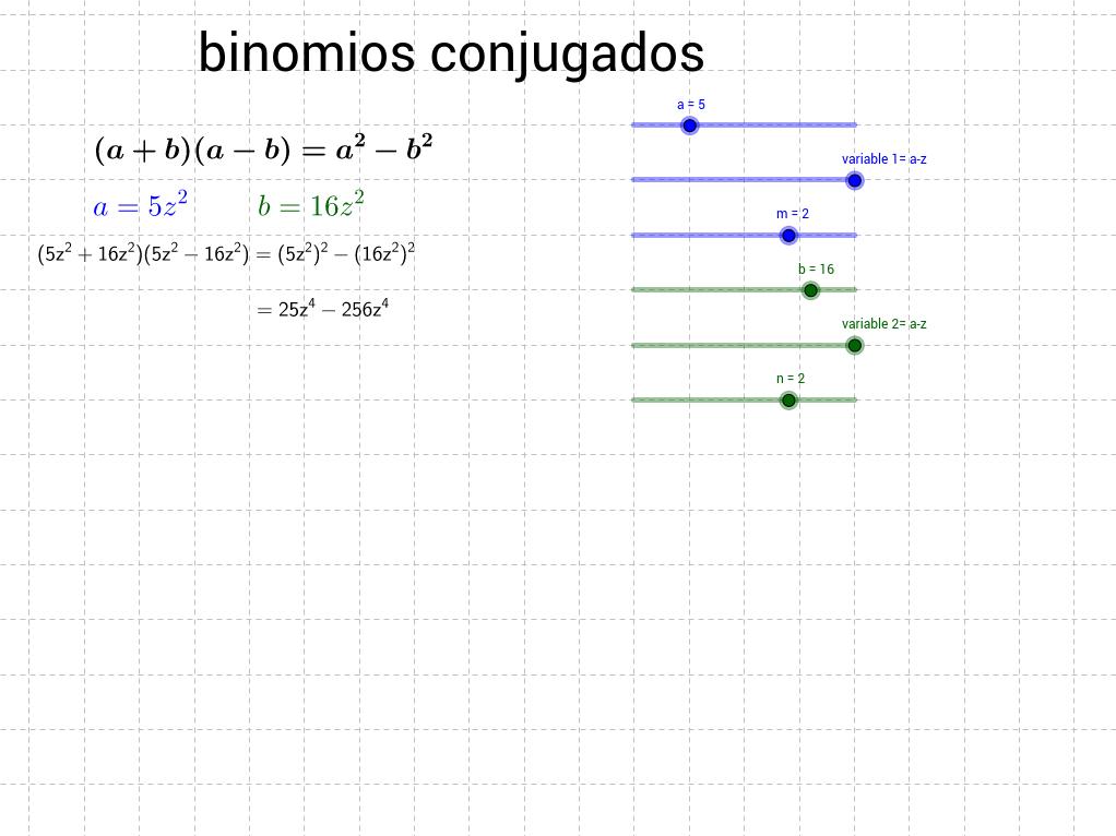 binomios conjugados 271