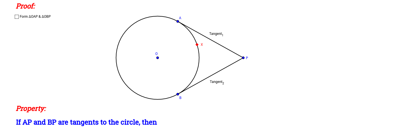 External Point to Circle (Proof)