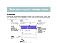 geogebra calculatrice graphique