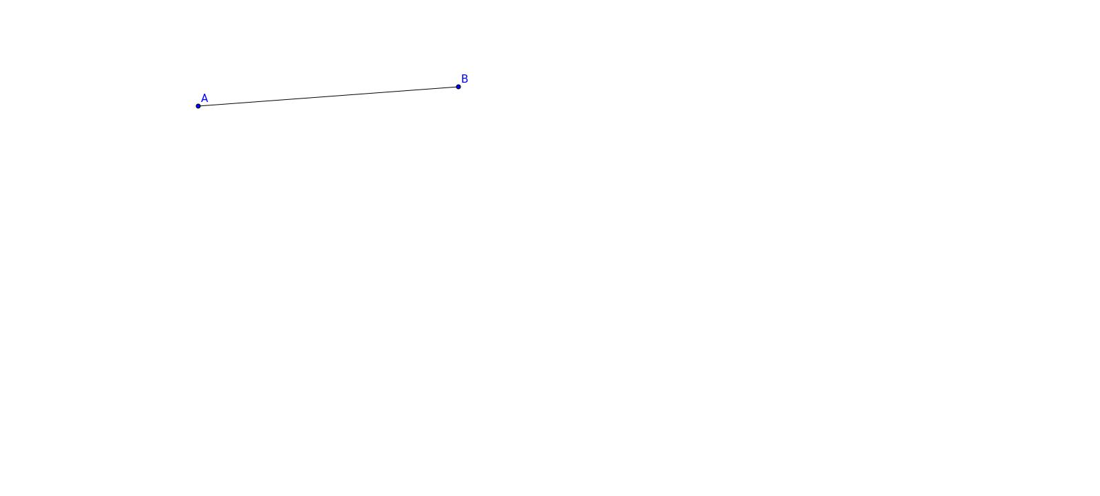 BV Geometry:  Constructing Congruent Segments