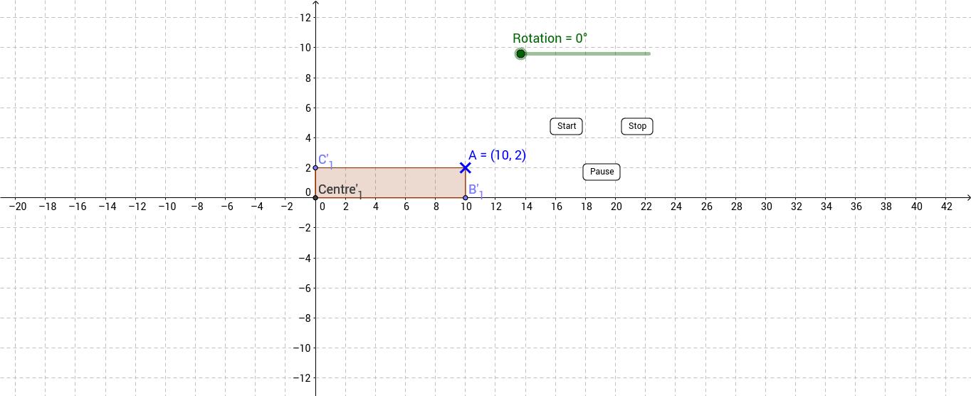 Rotation: Trace a polygon