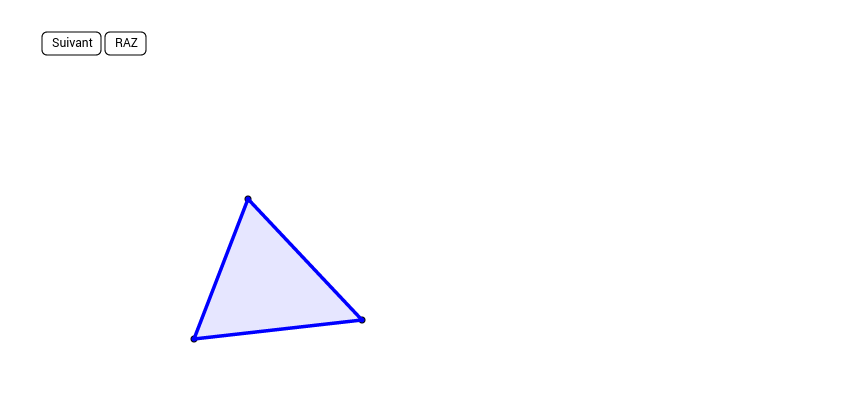 Les médianes du triangle