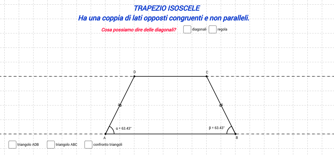 Trapezio isoscele II