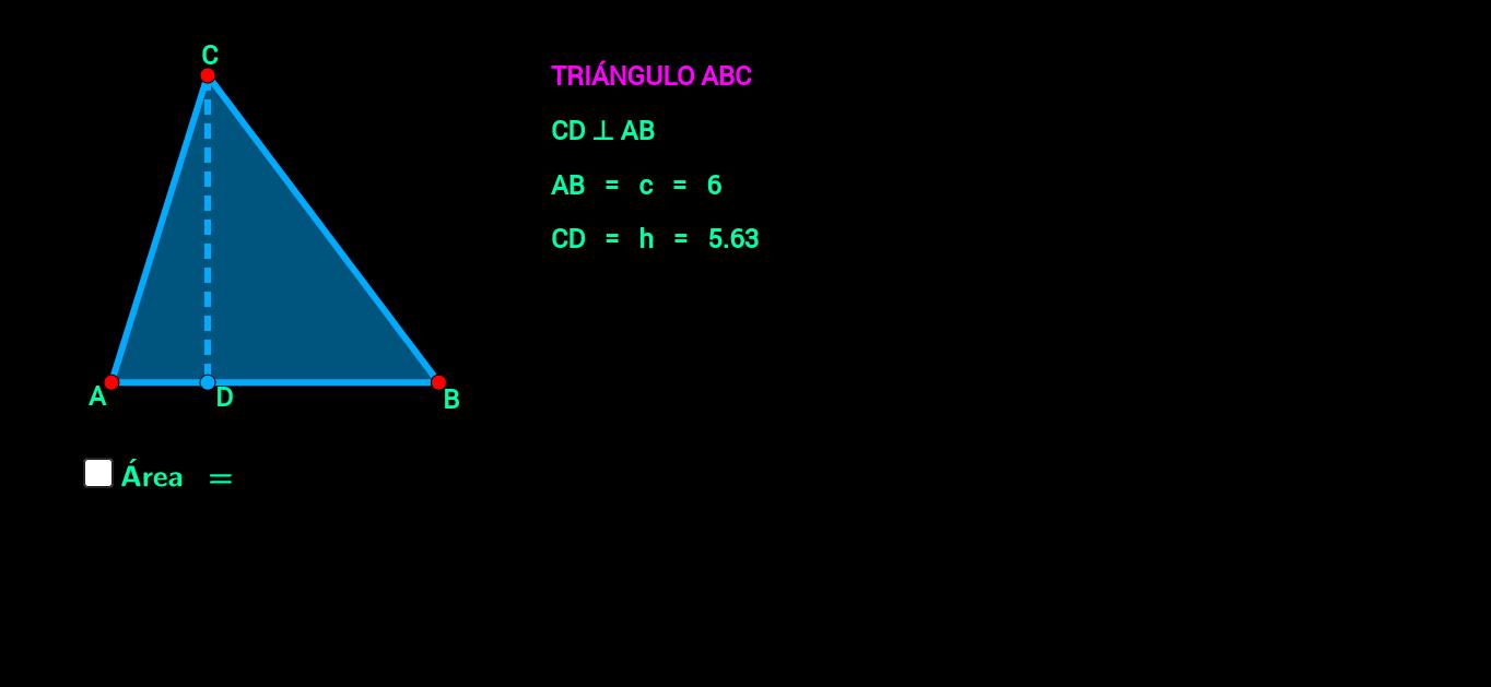 Triángulo ( área )