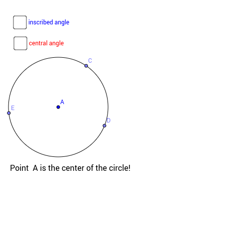 Central and Inscribed Angles