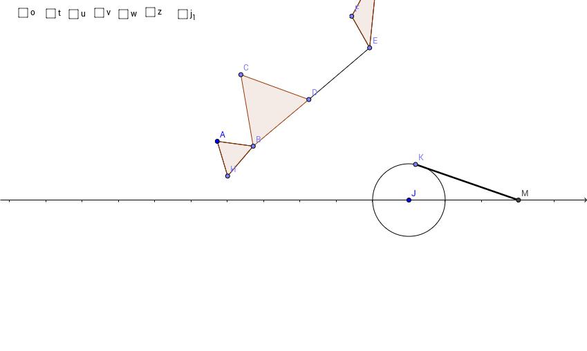 円運動から直線運動へ