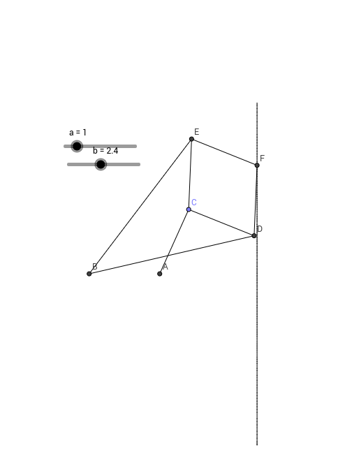Peaucillier's Straight-Line Mechanism