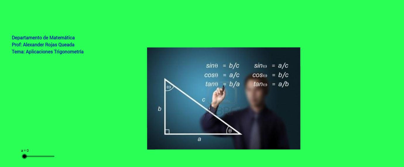 Aplicación Trigonométrica a la realidad