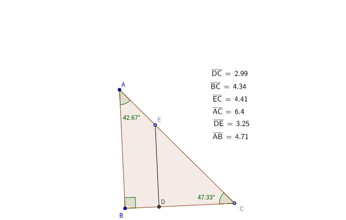 Trig Ratios of Similar Triangles GeoGebra – Trig Ratios Worksheet