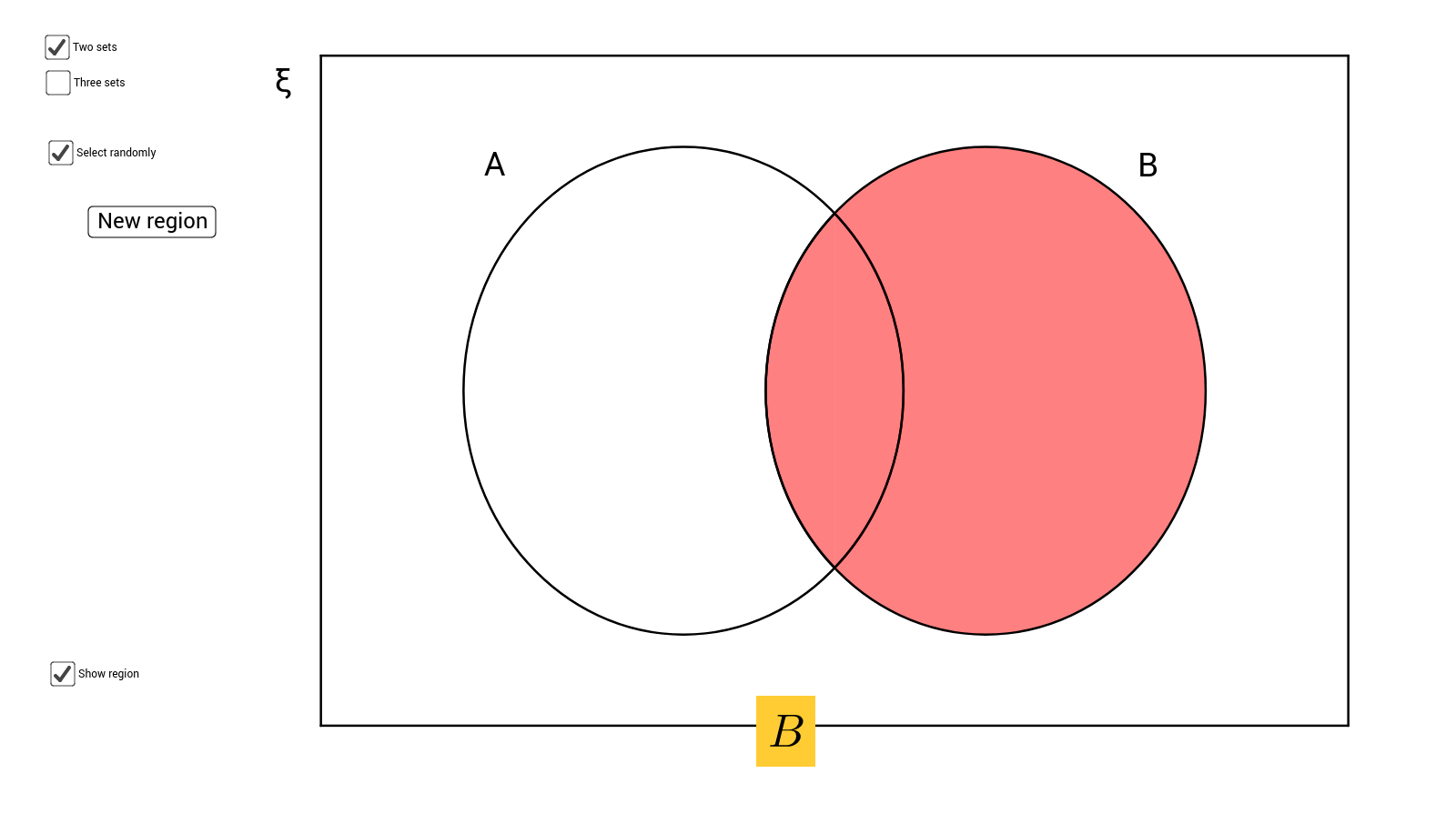 Venn diagram shading with 2 and 3 sets geogebra pooptronica