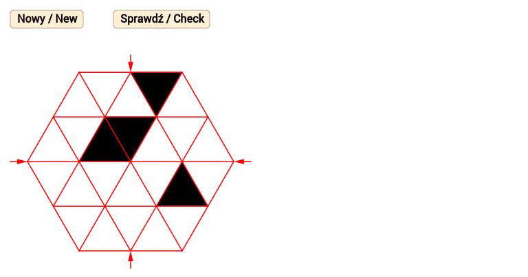 Sześciokątny wzór 2 / Hexagonal pattern 2