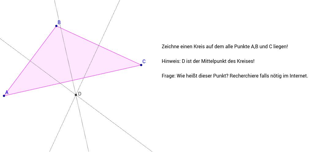Merkwürdige Punkte im Dreieck