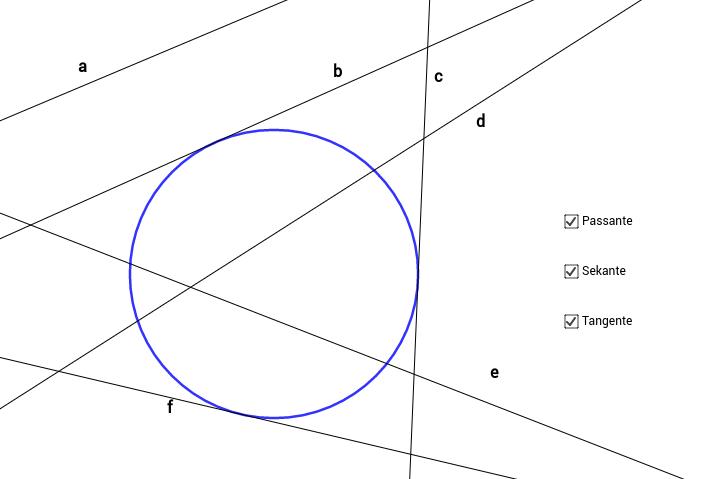 Kreis und Gerade 2