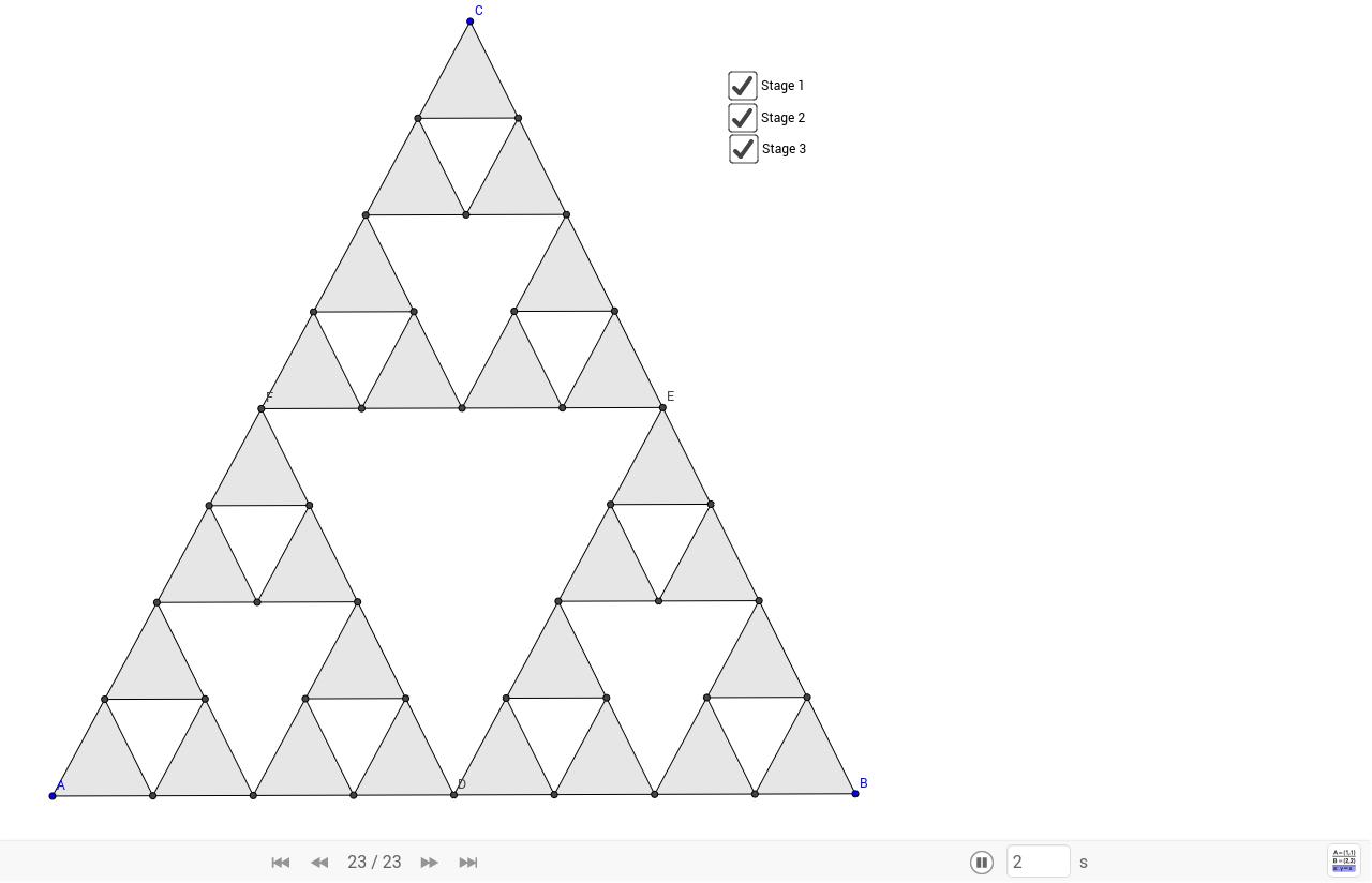 Sierpinski Triangle - GeoGebra