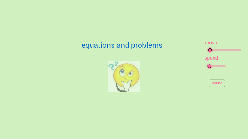 equations and problems
