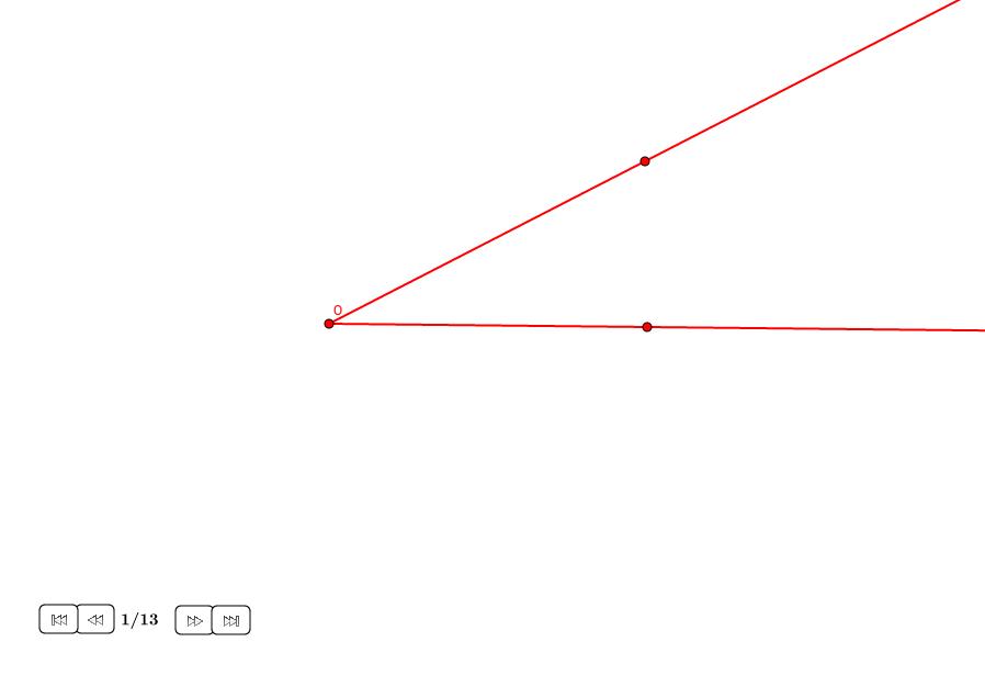 Trisección aproximada de un ángulo