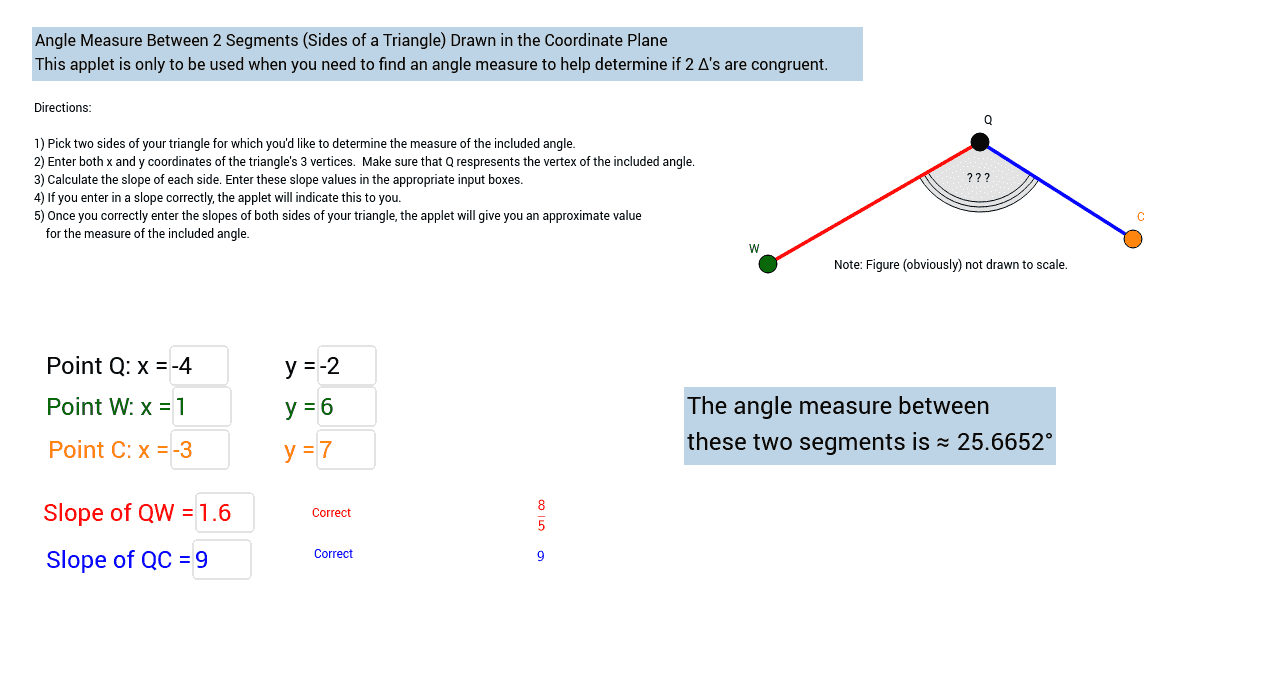 Proving Triangles Congruent - GeoGebraBook