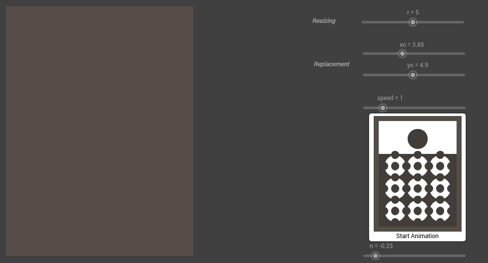 Vasarely Op-Art: Relief Metal