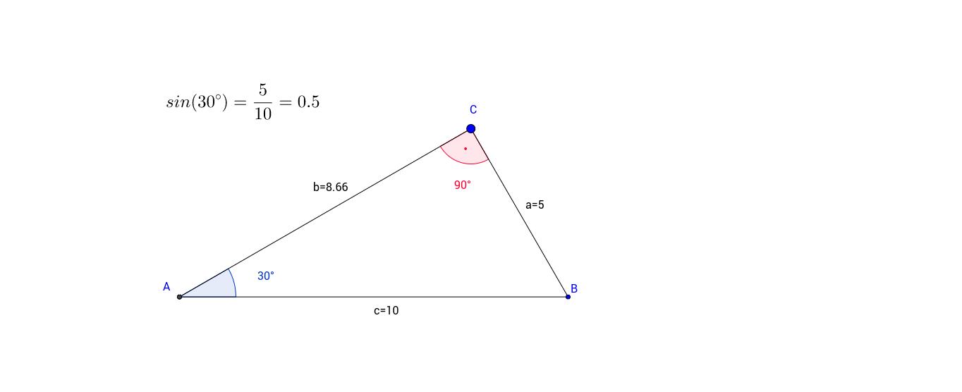 M9: 06 Trigonometrie an beliebigen Dreiecken – GeoGebra