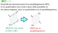 Reconnaître des parallélogrammes