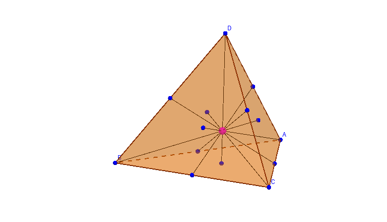 The Centroid of a Tetrahedron: Medians and Bimedians