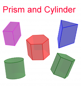 Prism and Cylinder