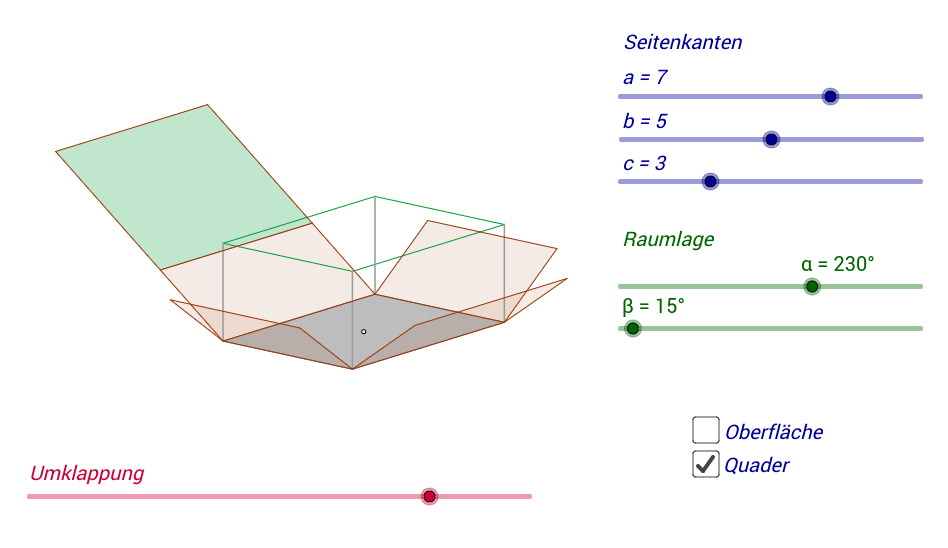 GeoGebraBook (ohne Compiled Applets)