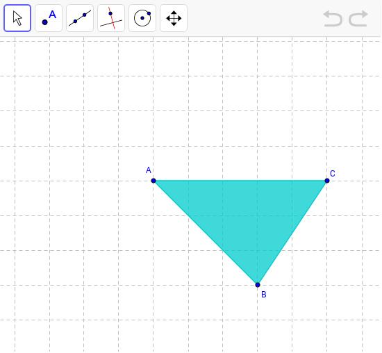 Las alturas del ABC acutángulo escaleno – GeoGebra