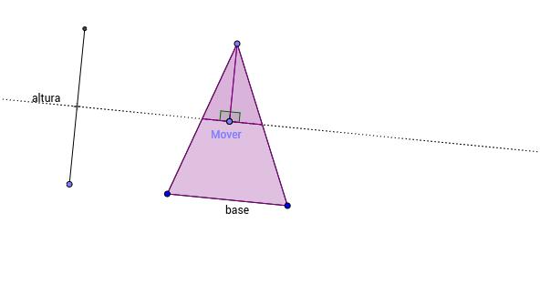 Qual relação de área que este applet ilustra? Qual a argumentação geométrica que justifica este fato?