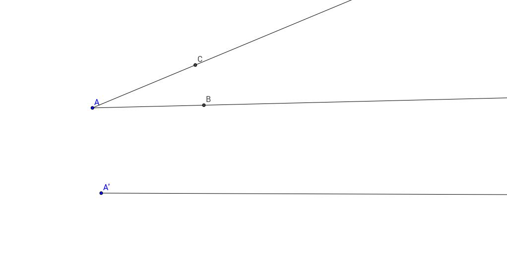 Copy an Angle