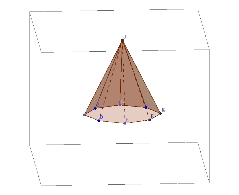piramide oktogonala irregularra