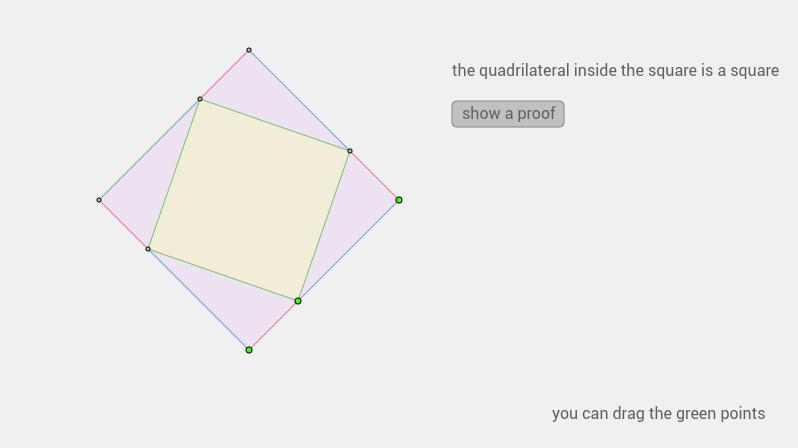 a square in a square
