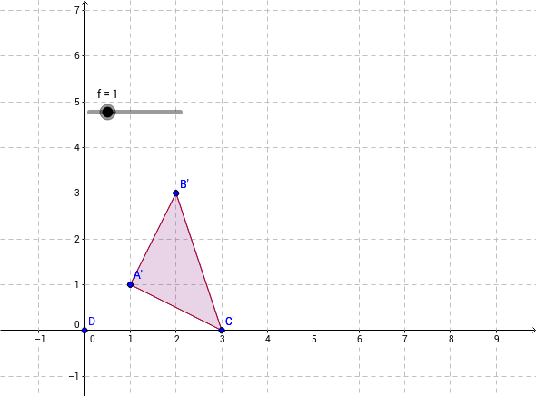 LKR Triangle Dilation